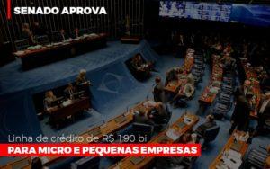 Senado Aprova Linha De Crédito De R$190 Bi Para Micro E Pequenas Empresas Notícias E Artigos Contábeis Nacif Contabilidade - Nacif Contabilidade