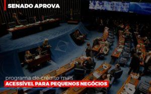 Senado Aprova Programa De Credito Mais Acessivel Para Pequenos Negocios Notícias E Artigos Contábeis Nacif Contabilidade - Nacif Contabilidade